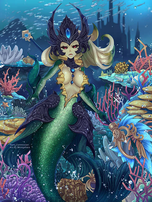 Commission Nami - Normal Version - by Sh