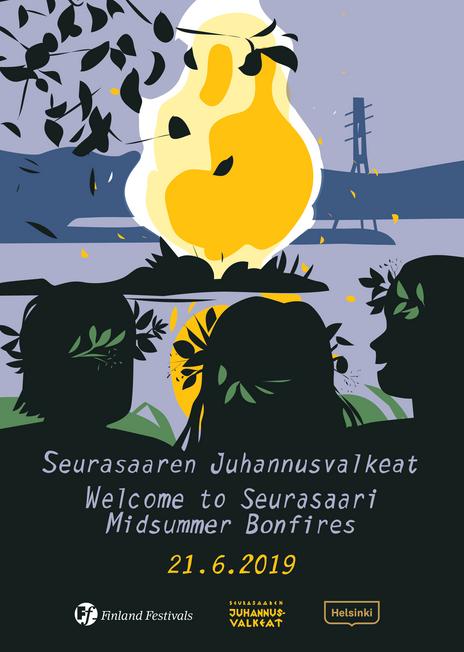 Seurasaaren Juhannusvalkeat  ->