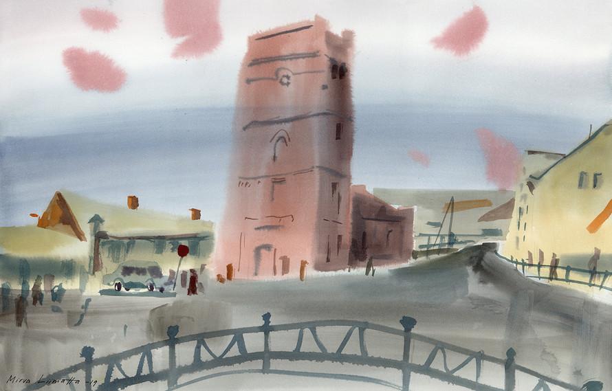 Pechory town