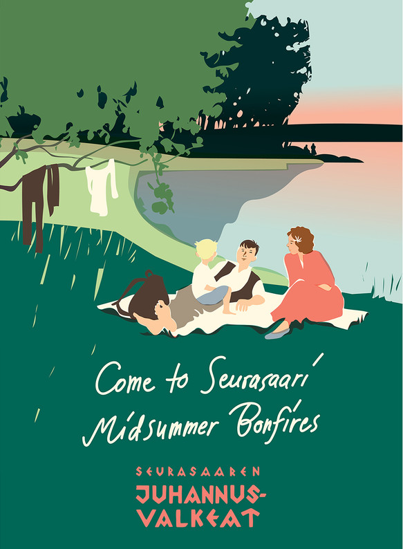 Come to Seurasaari Midsummer Bonfires