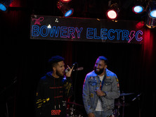 MRG & Sweez (Star69xse7en) performing a virtual show live from The Bowery Electric