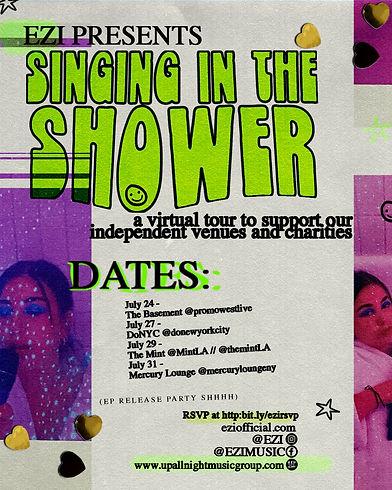 EZI Singing In The SHOWER Virtual Tour