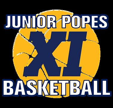 Junior Popes Basketball Logo 2 Transpare