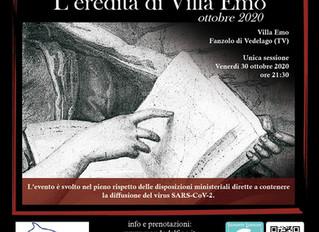 ESCAPE STORY: L'EREDITA' DI VILLA EMO