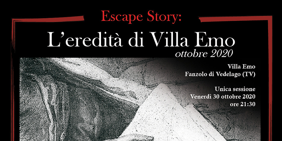 Escape Story - L'eredità di Villa Emo - 2020 edition