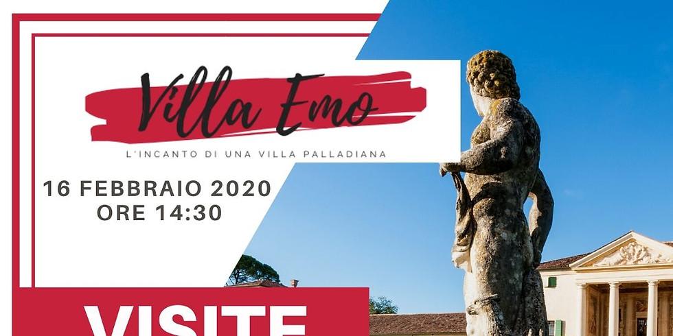 Visite guidate a Villa Emo - Febbraio