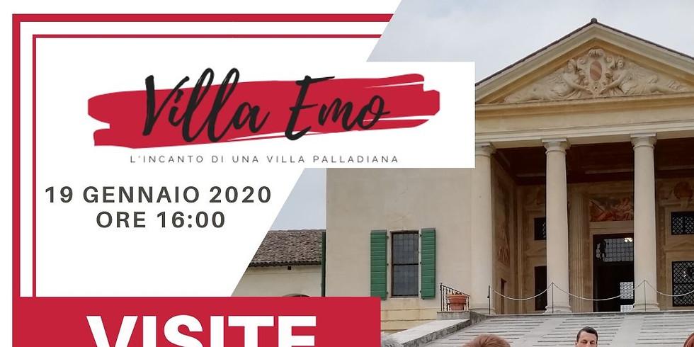 Visite guidate a Villa Emo - Gennaio