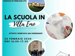 La scuola in Villa Emo - formazione per insegnanti