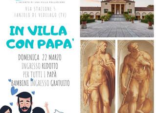 In Villa con papà!