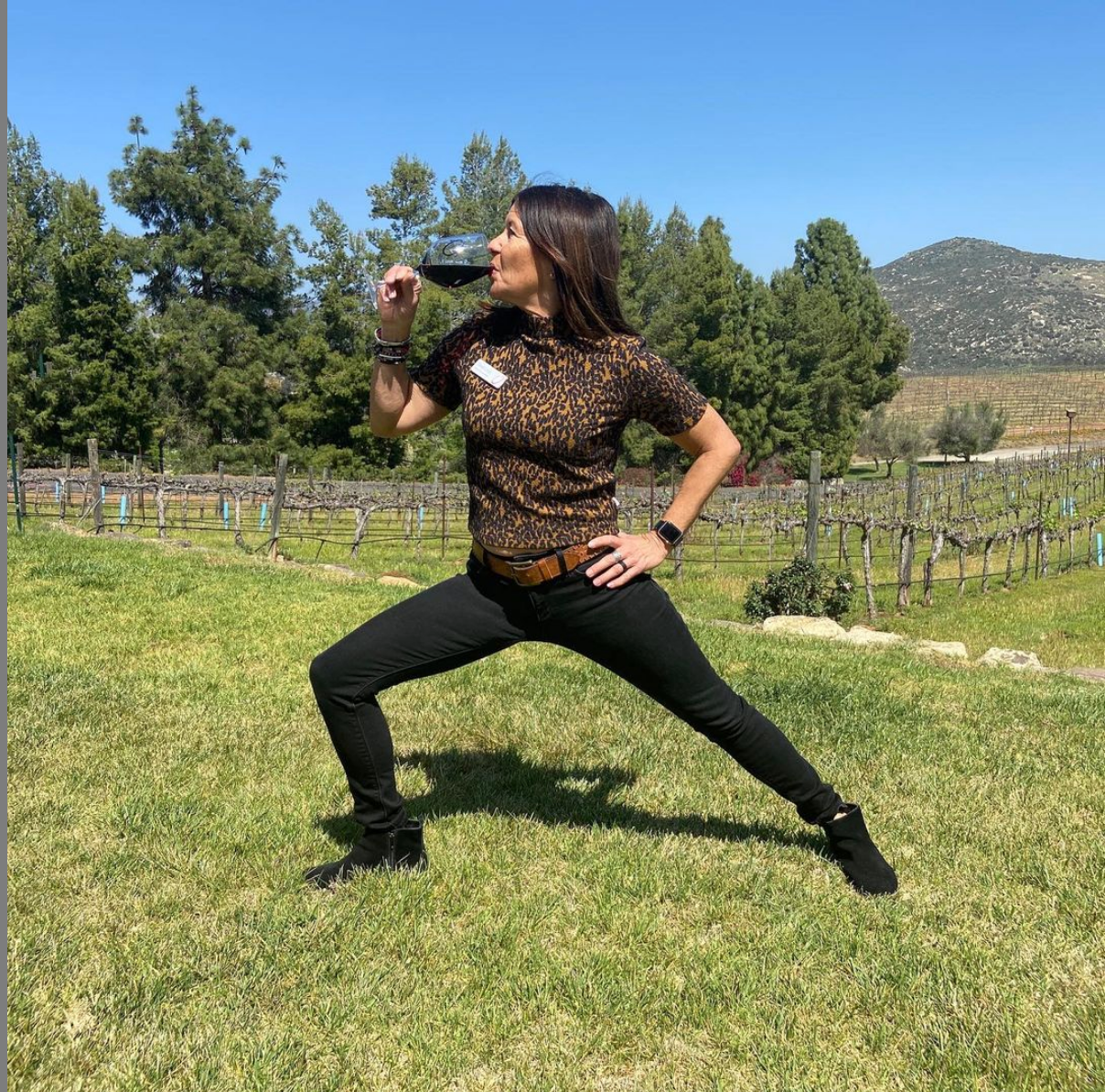 Yoga in the Vines!