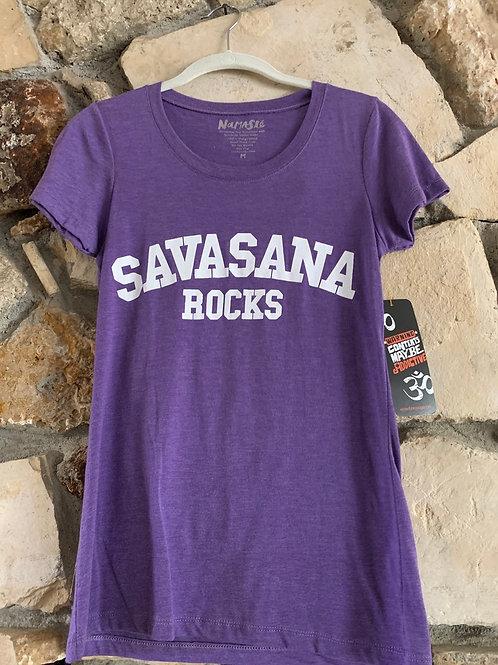 Savasana Rocks T-Shirt