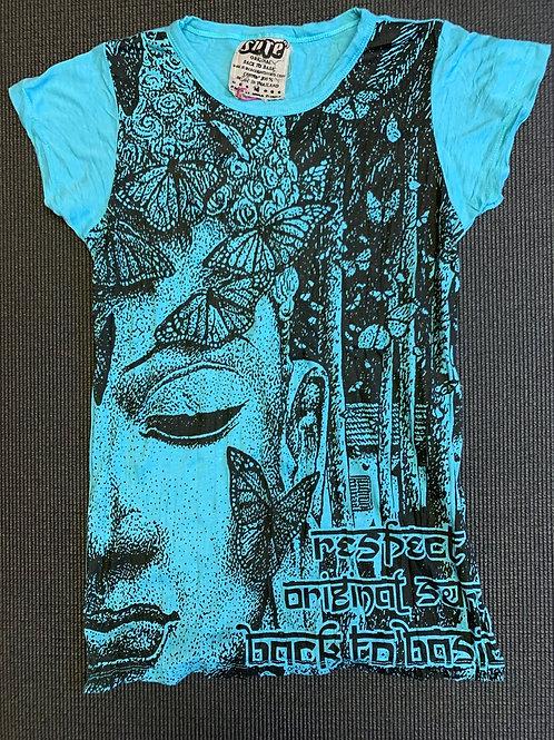 Butterfly Buddha T-shirt