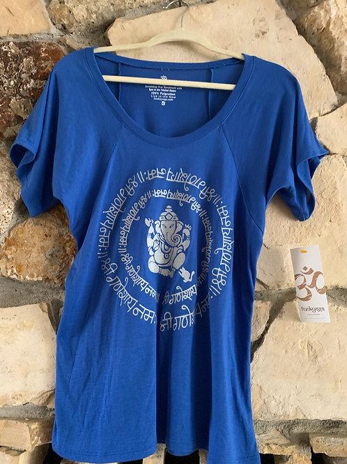 Ganesh Flowy Scoopneck T-Shirt