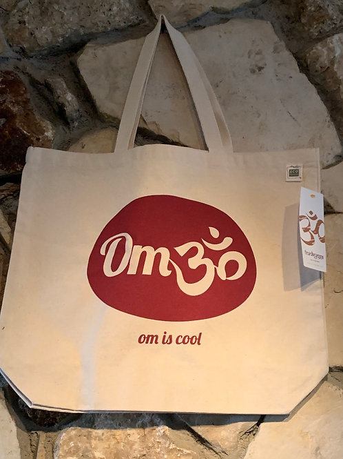 Om is cool tote