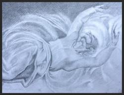 'Light & Dark' - Michaelangelo study