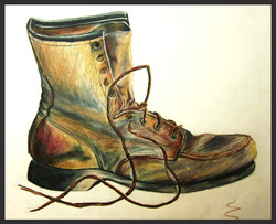 'Boot Study in Color'