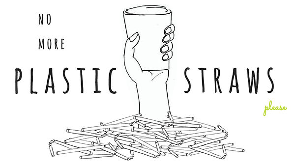 No more plastic straws