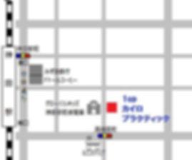 1upカイロプラクティック 地図