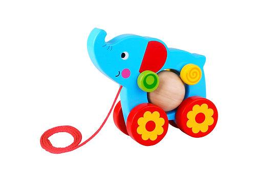 TKE006 Pull Along - Elephant