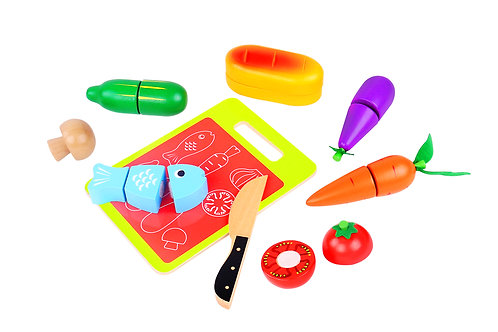 Tooky Toy Cutting Set - Food
