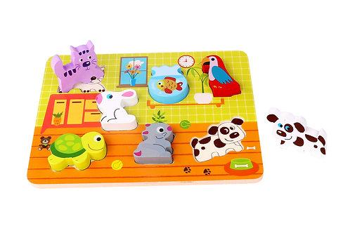 TKC480 Chunky Puzzle - Pet