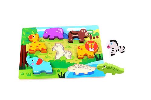 TKC394 Chunky Puzzle - Animal