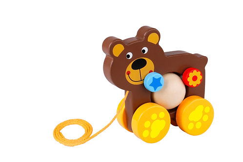 TKE004 Pull Along - Bear