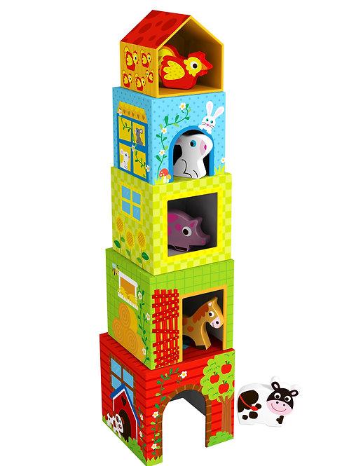 TKF053 Nesting Box - Farm