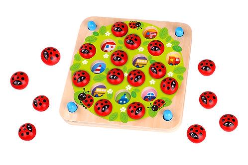 TY170 Memory Game - Ladybug