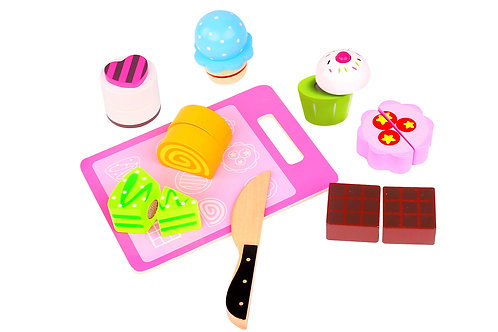 Tooky Toy Cutting Set - Afternoon Tea