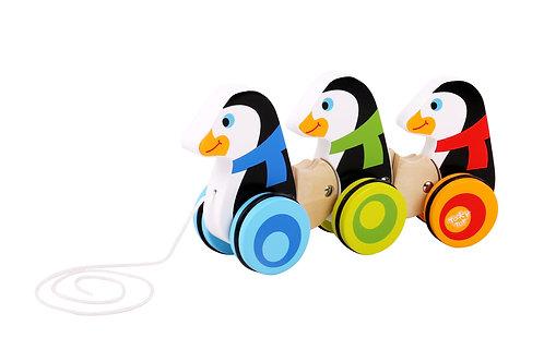 TKC420 Pull Along - Penguins