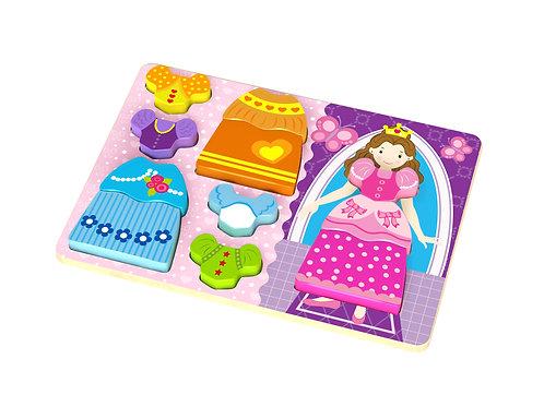 TKC478 Chunky Puzzle - Princess