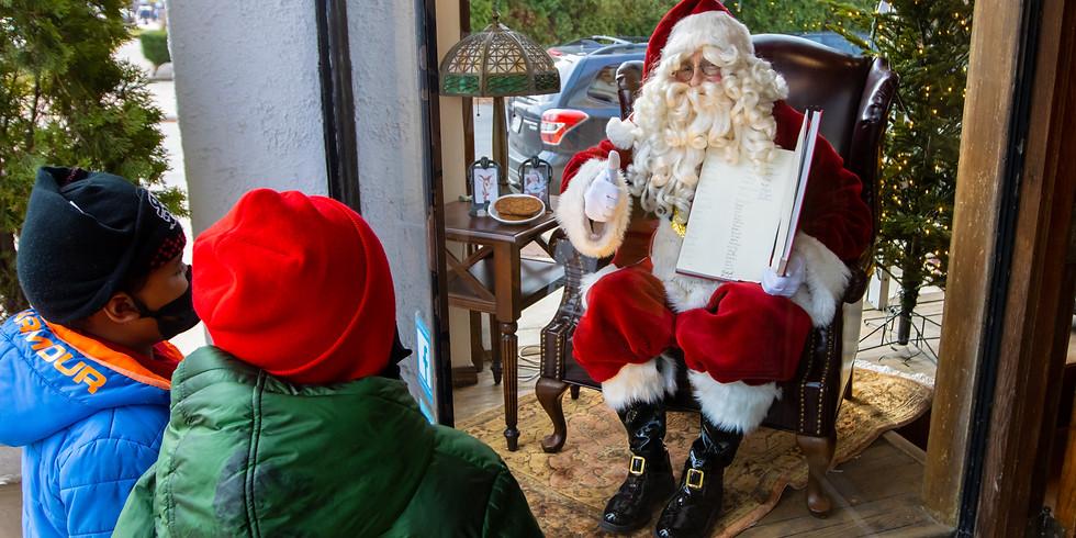 Santa in the Window - Dec. 19th