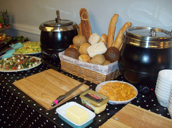 Typical soup station