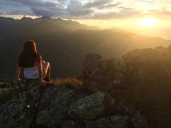 Wanderung auf den Gipfel, Karspitze