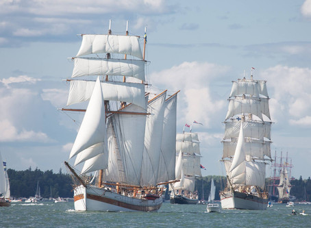 Tallinn Maritime Days will bring with them the spectacular fleet of The Tall Ships Races on