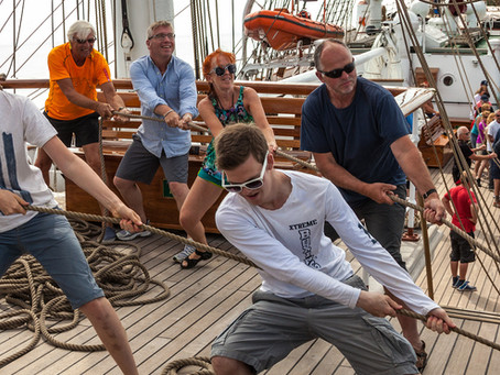 Tallinn invites young people to participate in The Tall Ships Races sailing learning regatta