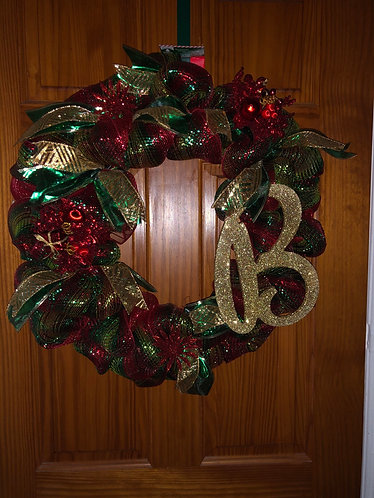 It's beginning to look a lot like Christmas Wreath