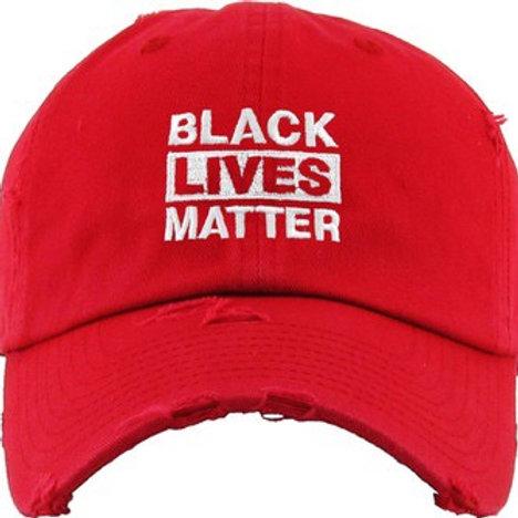 Black Lives Matter (BLM) Distressed Dad Hat
