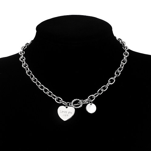 Love You More Chain Necklace