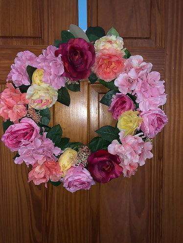 Spring has Sprung Floral Wreath