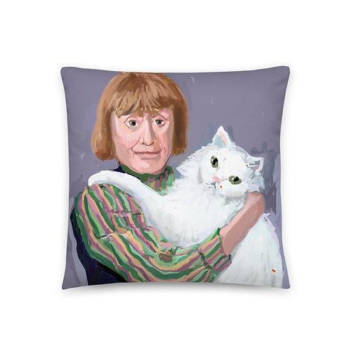 Elaine DeKooning Pillow