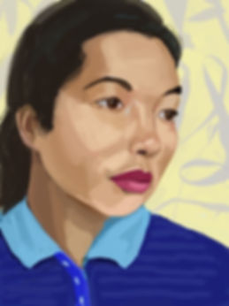 Bernice Bing, iPad drawing, 2020