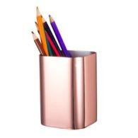 Rose gold minimalist desk