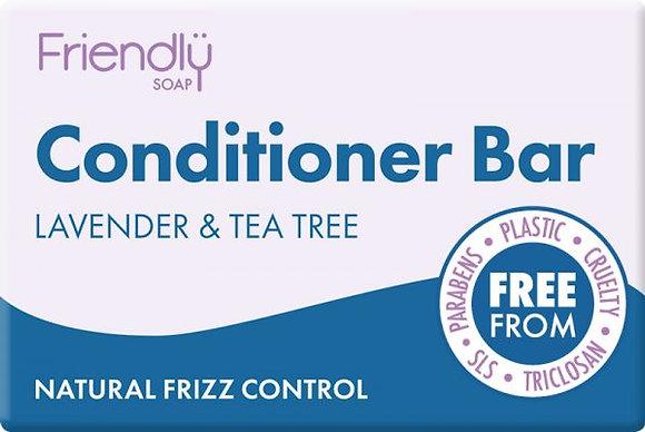 Lavender & Tea Tree Hair Conditioner Bar -Friendly