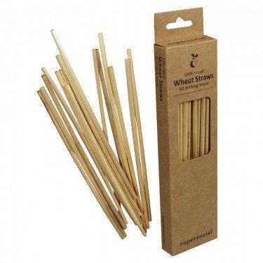 Wheat Straws, compostable set/60