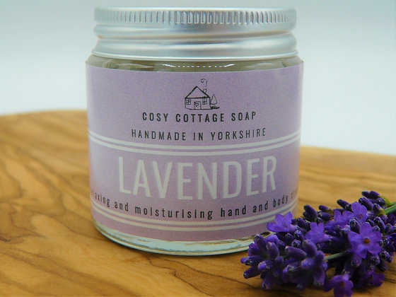 Relaxing Lavender Body & Hand Cream – Cosy Cottage