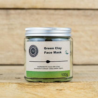 Green Clay Face Mask - Heavenly Organics