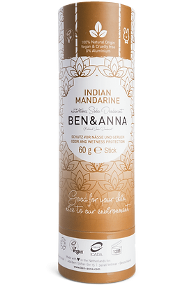Natural Deodorant - Indian Mandarine - Ben & Anna
