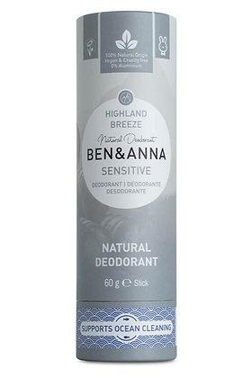 Sensitive Deodorant - Highland Breeze - Ben & Anna